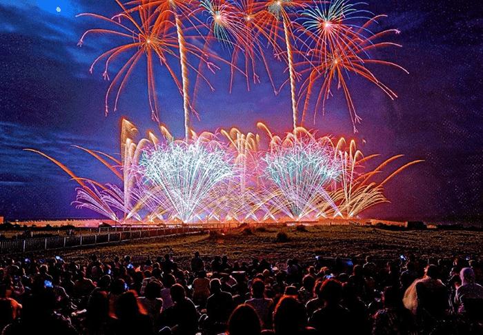 【Hiratsuka】 The 67th Shonan Flounder Firework Festival