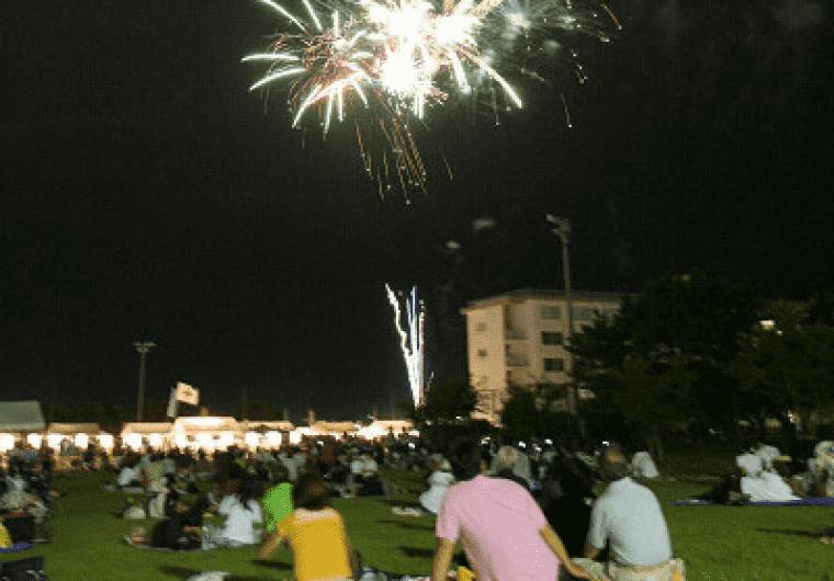 【Yokosuka】 West district fireworks display