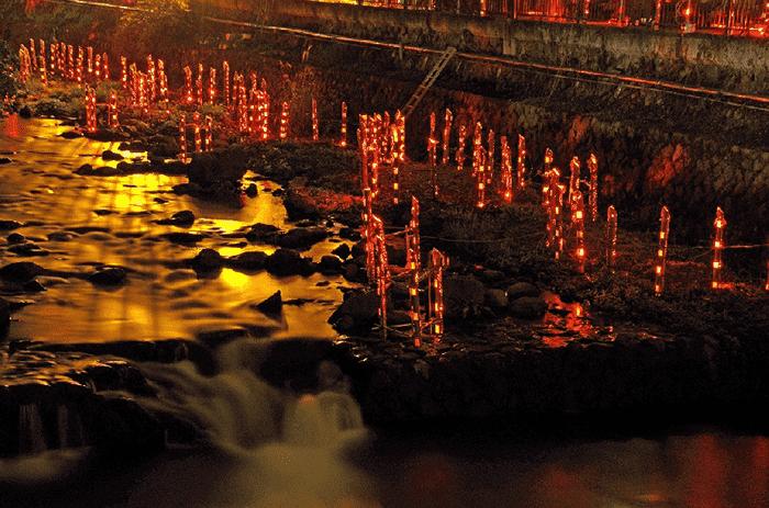 【湯河原】湯河原温泉 灯りの祭典
