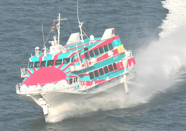 【藤沢】【事前申し込み制・先着順】ジェット船で1時間 江の島から伊豆大島へ
