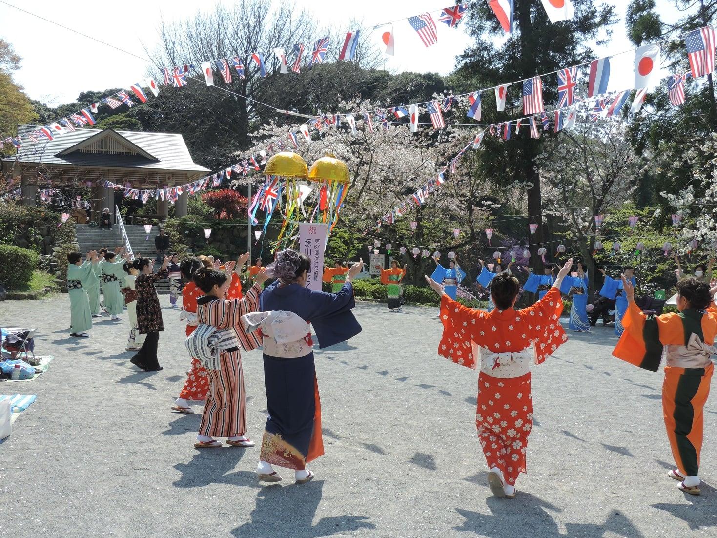 【横须贺】筑山公园樱花节