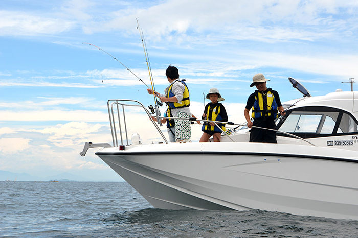 【Hiratsuka】 ENJOY Ocean KANAGAWA 2018 - Boat Fishing -