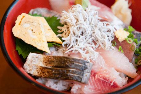 Sushi Set Meal Ikoi