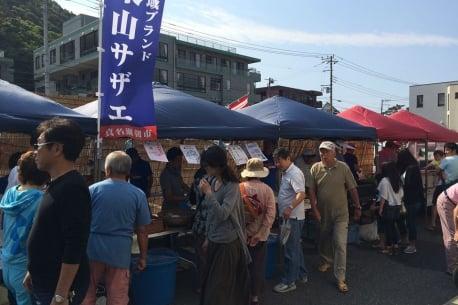 Hayama Shinnaze Asaichi(Morning Market)