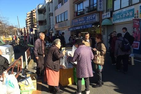 Miura-kaigan Wai Wai ichi Market