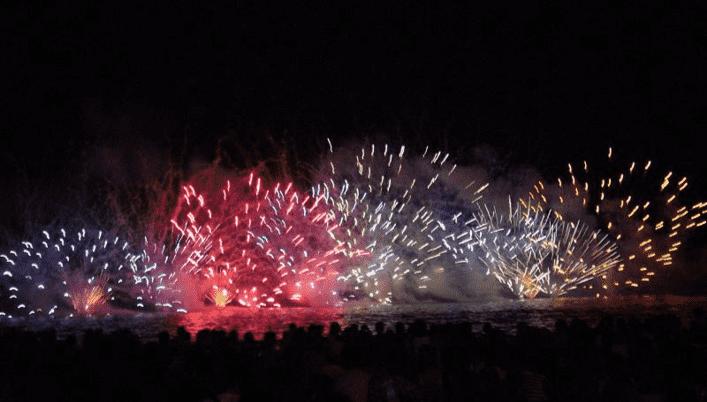 【三浦】第38回三浦海岸納涼まつり花火大会