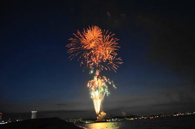 【横須賀市】2019年よこすか開国祭 開国花火大会
