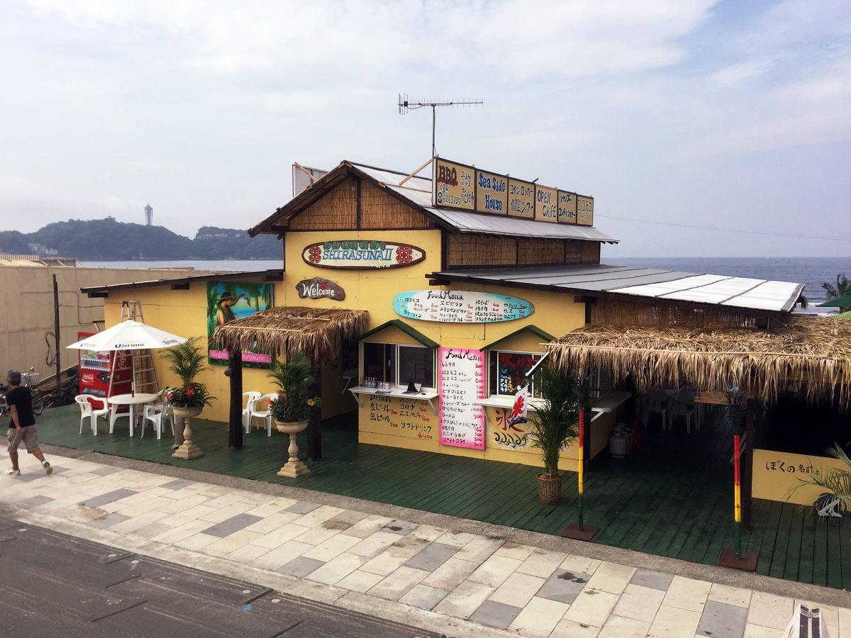 Shonan Enoshima Beachhut SHIRASUNA2