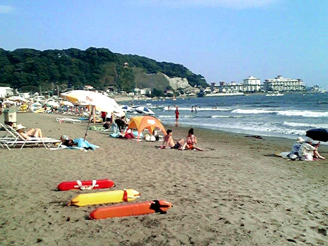 Zaimokuza Beach Swimming Area