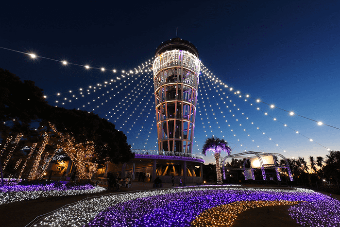 【Fujisawa】 Shonan's jewelry 2018-2019 ~ Light and color celebration coloring Enoshima ~
