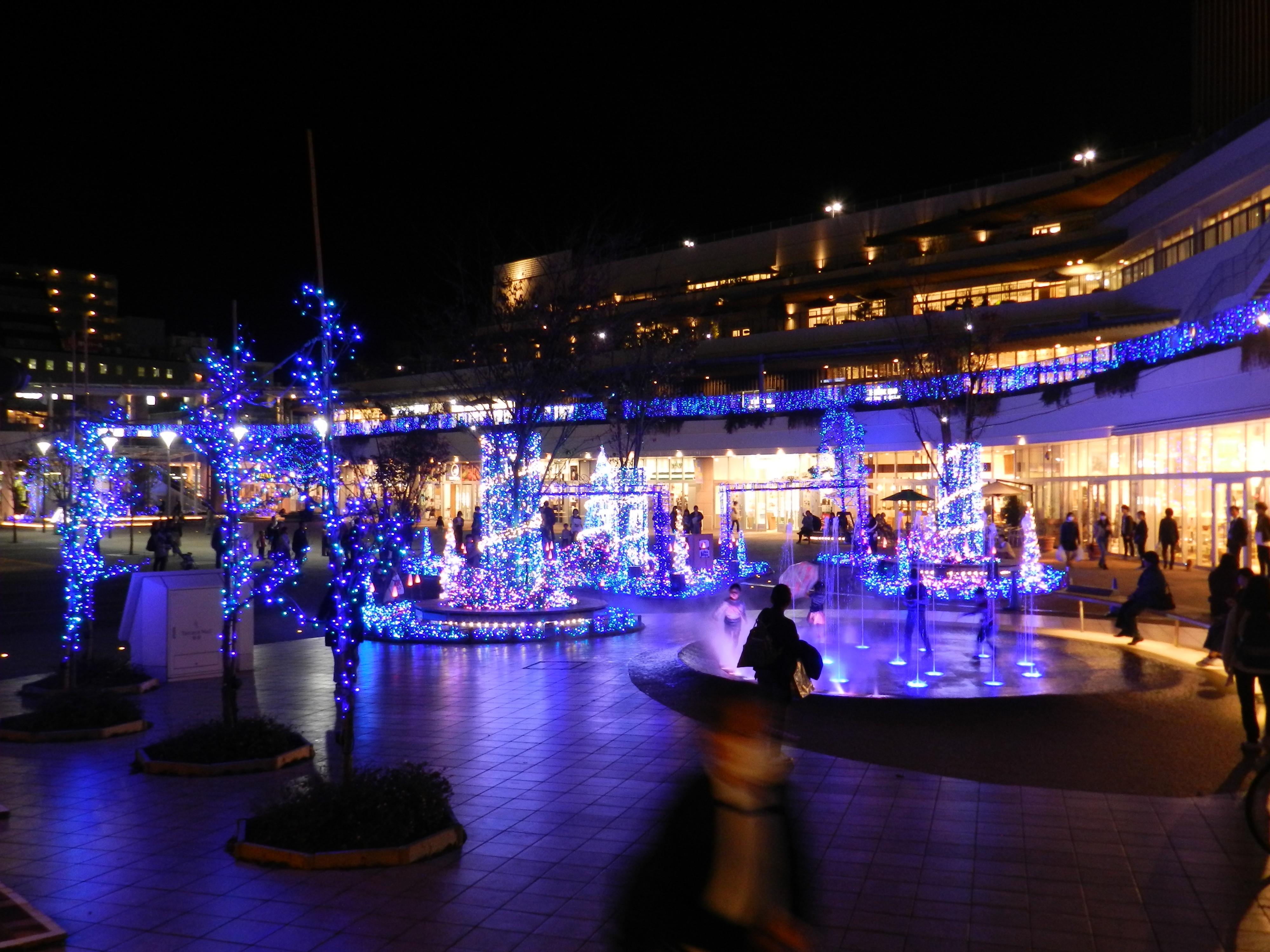 【辻堂】Terrace Mall 湘南 Xmas Illumination 2018 -Fantasia in the sky-