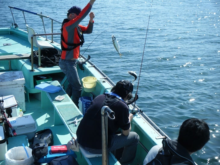 釣り船 祥福丸