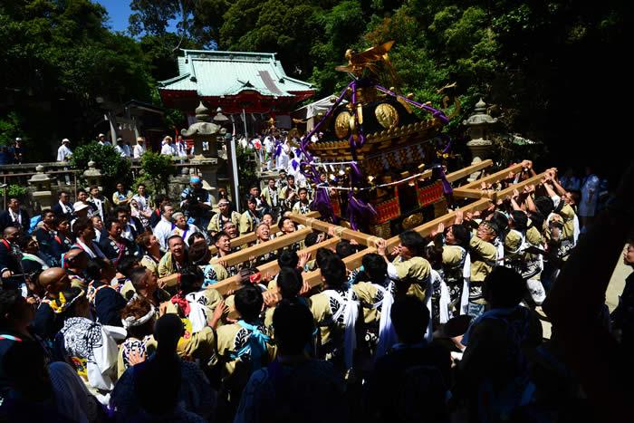 【三浦】海南神社 夏例大祭