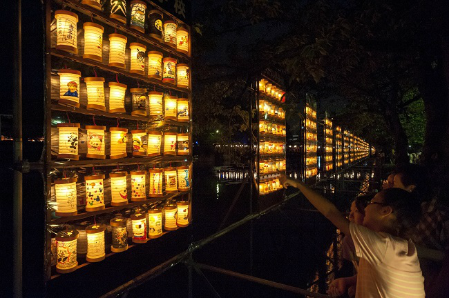 【Odawara】 The 28th Odawara Lantern Summer Festival