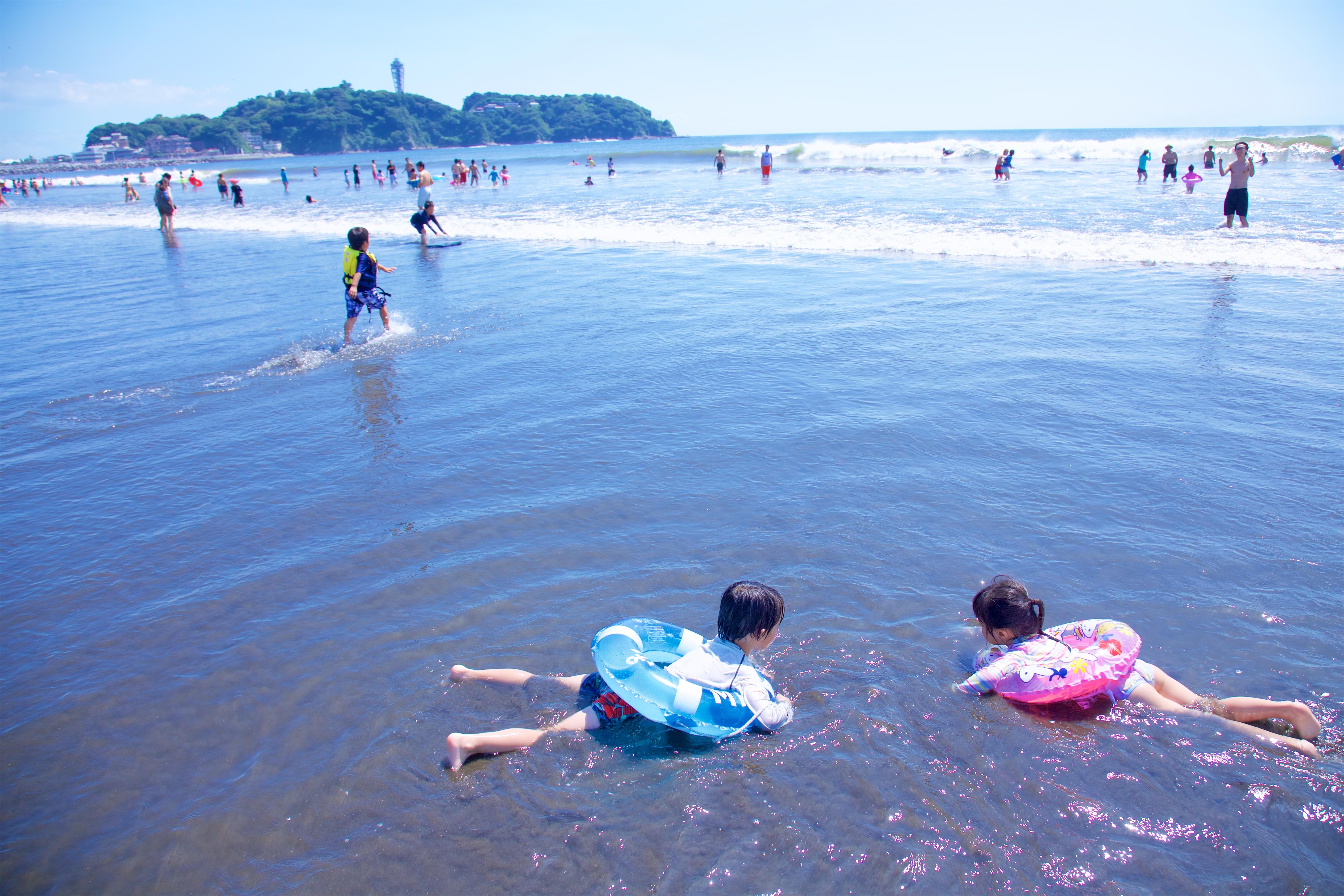 【藤沢市】江の島マイアミビーチショー