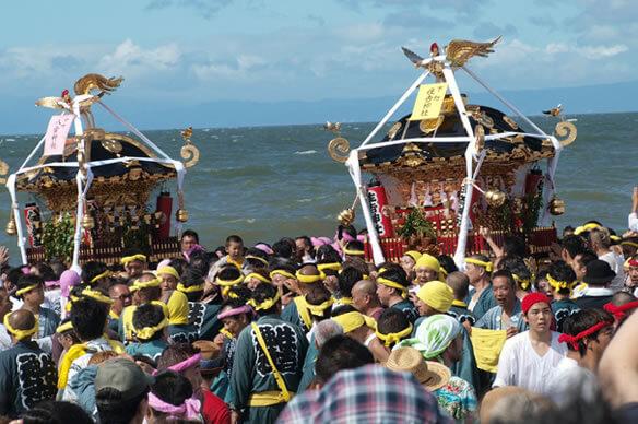 【茅ヶ崎市】茅ヶ崎海岸 浜降祭