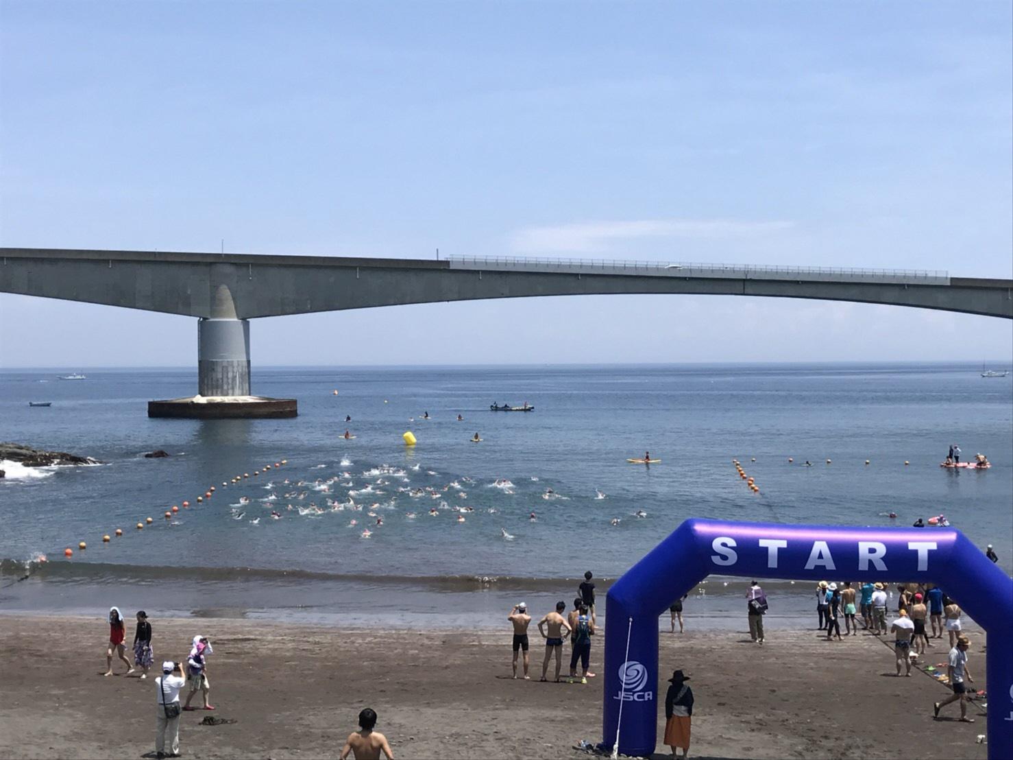 【真鶴】真鶴・岩海岸OWS(オープンウォータースイム)大会