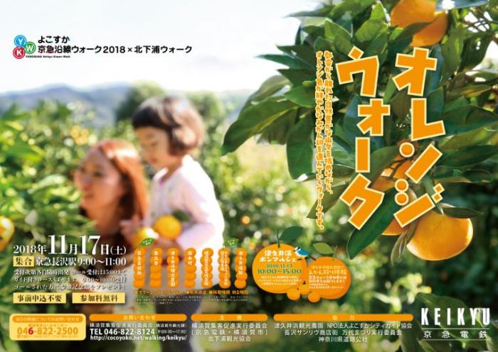 【横須賀】オレンジウォーク