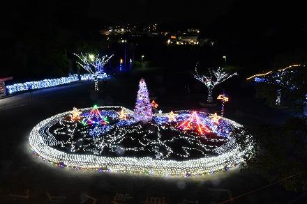 [Yokosuka City] Kurihama Flower Country Winter Illumination