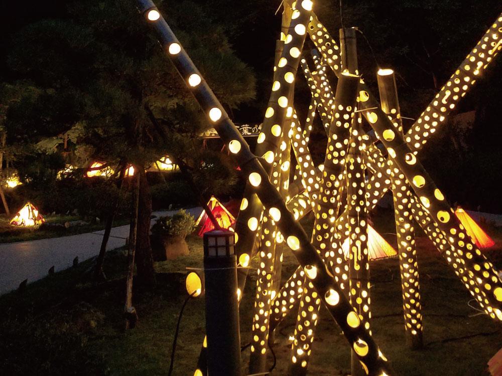 【湯河原町】灯りの祭典