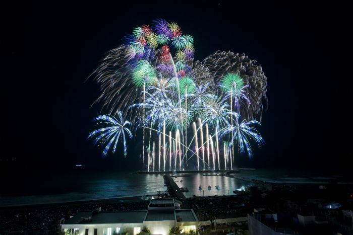 [Chigasaki City] Chigasaki Southern Art Fireworks 2019