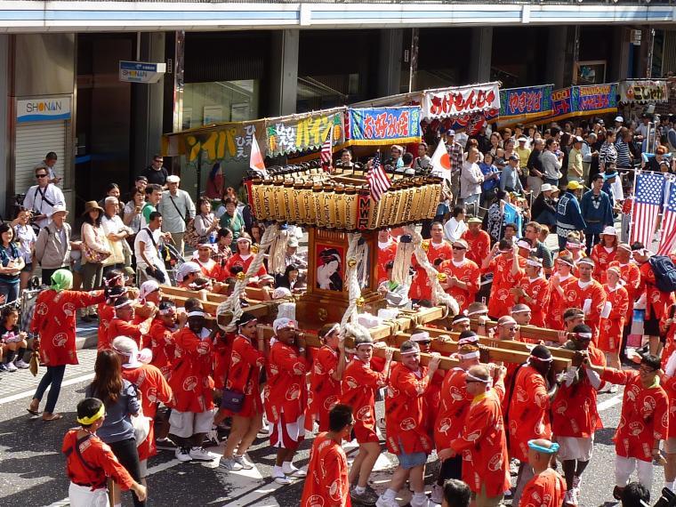 【横須賀市】第43回よこすかみこしパレード
