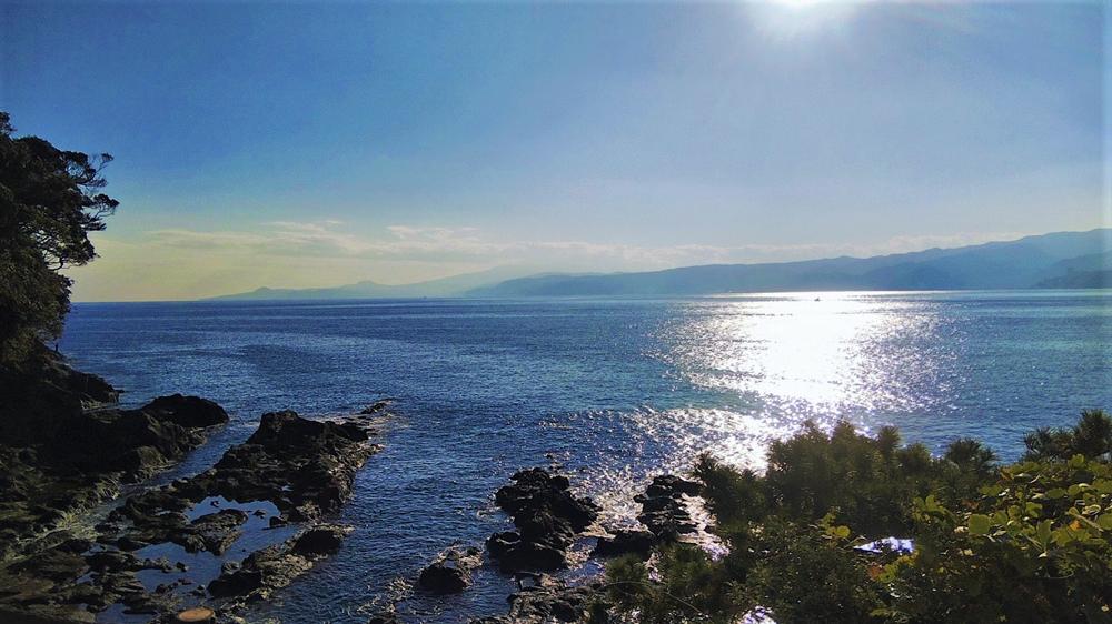 海辺のリゾート 碧い海