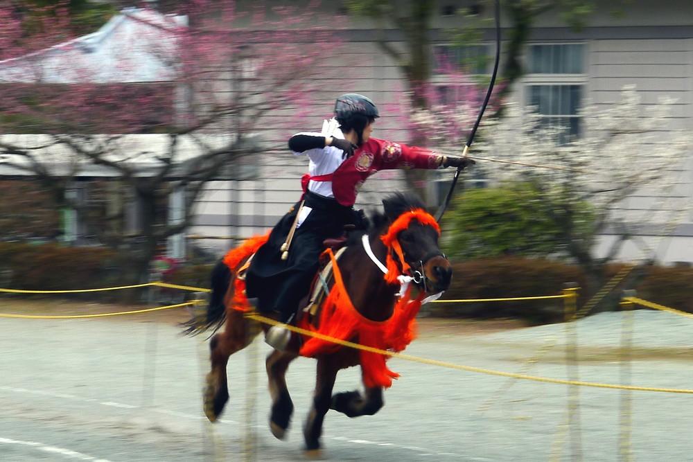[Odawara City] Odawara Castle Umagami Bow Competition